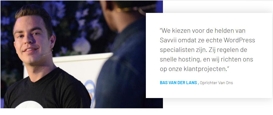 savvii hosting review