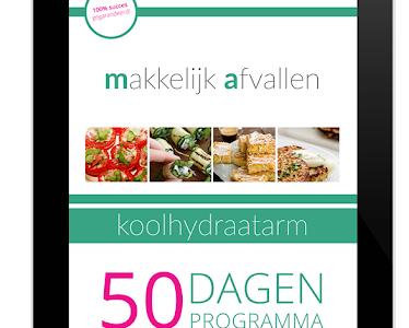 Koolhydraatarm 50 dagen menu ervaringen