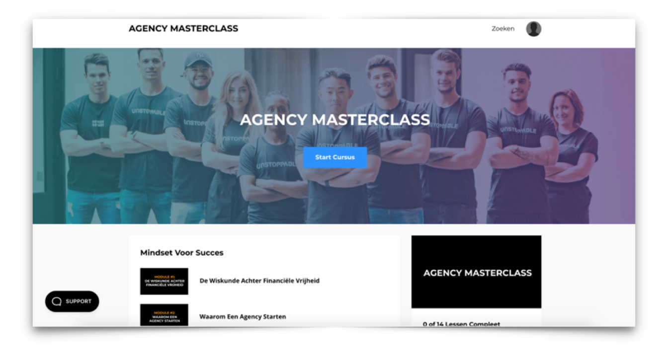 agency masterclass review