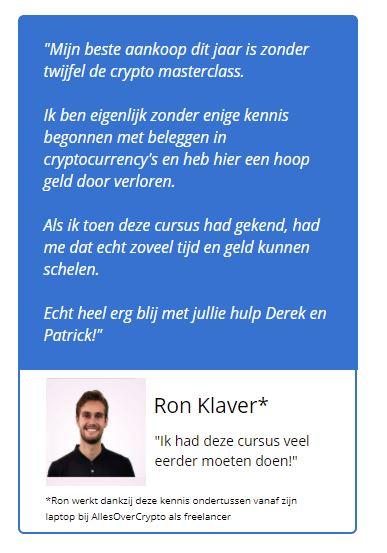 crypto masterclass ervaringen